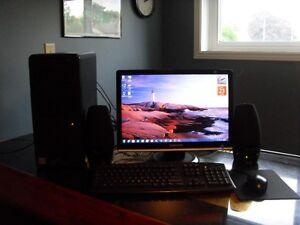"""HP a6407c 2.80 GHz Dual Core PC...20"""" Samsung Monitor"""