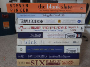 self help/personal development books for sale