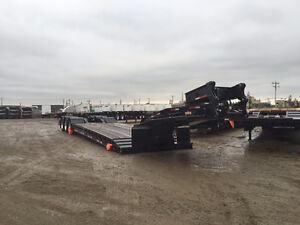 Gerry's 55ton Hydraulic Neck Lowbed