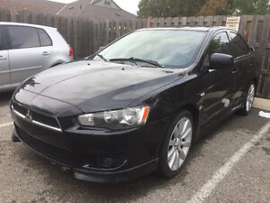 2008 Mitsubishi Lancer GTS With E-tested  and Certified