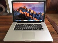 "15.4"" Macbook Pro, i5 processor, 8GB Ram, 500GB Hard Drive. FREE DELIVERY"
