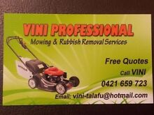 VINNIES PROFESSIONAL LAWN MOWING SERVICE Dallas Hume Area Preview