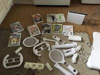 Wii console & Wii Fit