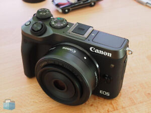 Canon EOS M6 with 22mm Pancake Lens or 11-22mm Lens