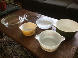 Collection of Pyrex Corning Ware and Federal Glass Ovenware