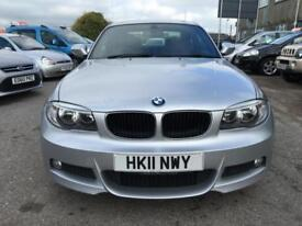 2011 BMW 1 Series 120 Coupe 2.0d 177 M Sport 6 Diesel silver Manual