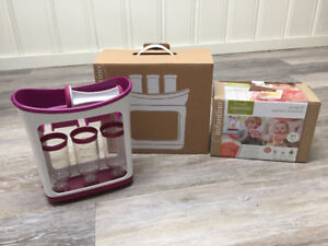 Infantino Squeeze station with squeeze pouches