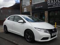 2013 Honda Civic 1.8 i-VTEC Ti 5DR 13 REG Petrol White