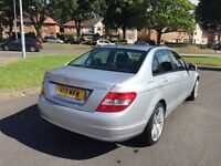 2009 Mercedes Benz 1.6 c180 kompressor sports (auto) only89000 miles 2 previous owners AMG alloys