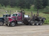 2007 Western Star with 1997 Peerless triaxle