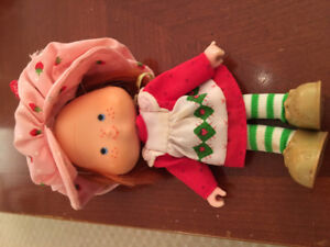 Vintage Strawberry Shortcake doll from the 1980's