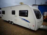 Avondale Argente 650/6 2008 6 Berth Twin Axle Touring Caravan with Motor Mover