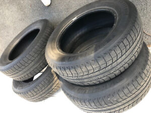 Winter tires for sale.   Size 225-65/R17
