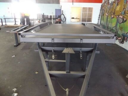 NEW TILTING NEW 15FT 2900KG CAR TRAILER! AUSTRALIAN MANUFACTURED!