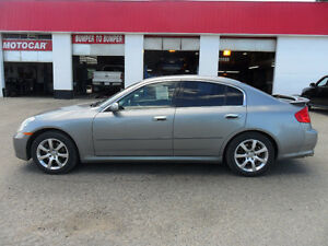 2006 Infiniti G35x * AWD* SUNROOF* CD CHANGER* HTD LEATHER*