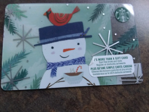 Starbucks coffee card