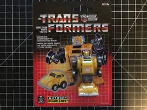 NEW TRANSFORMERS VINTAGE G1 AUTOBOT  BUMBLE BEE TAILGATE SWERVE