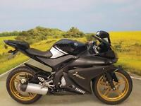 Yamaha YZF-R125 2009** Service History, Digital Display, Hugger, Learner Legal