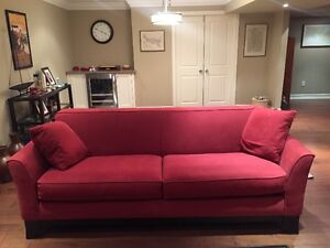 Pottery Barn Greenwich Sofa and Chair