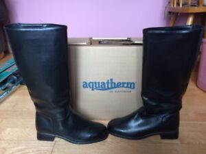 ladies waterproof Santana Aquatherm dress boots size 7.5M