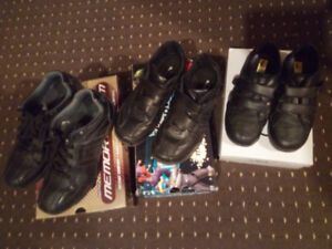 Black shoes, sketchers, for school or work