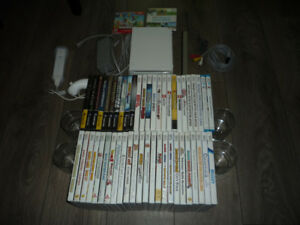 Wii console + Gamecube / Wii / Wii U games for sale