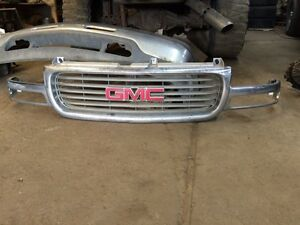 2002 Gmc 2500hd grille