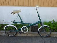 molton international vélo de ville roue 16 pouces vintage l