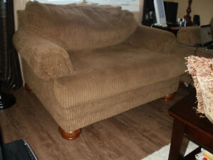 Super-Comfy Sofa & Chair-and-a-half Set