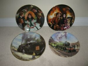 Gone with the Wind & Locomotive Collector Plates
