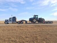 Hire who the dealers rely on! hauling all types of equipment!