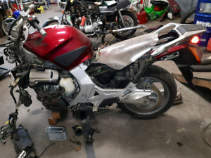 Parting out 2005 Honda ST 1300