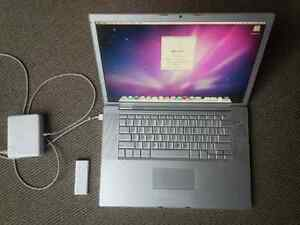 Apple MacBook Pro with remote