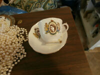 Royal Albert China 1953 Coronation Cup and Saucer at KeepSakes