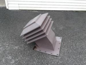 Maximum ventilation de toit