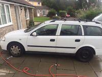 Vauxhall Astra estate car/van 1.7 diesel