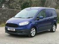 d7b4a63a0407f4 2016 Ford Transit Courier 1.5 TDCi Trend Van Diesel blue Manual