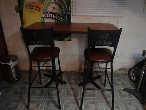 Custom 19th Hole Table and Chair Set One of A Kind Windsor Region Ontario image 1