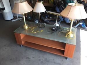 Table lamps for sale.
