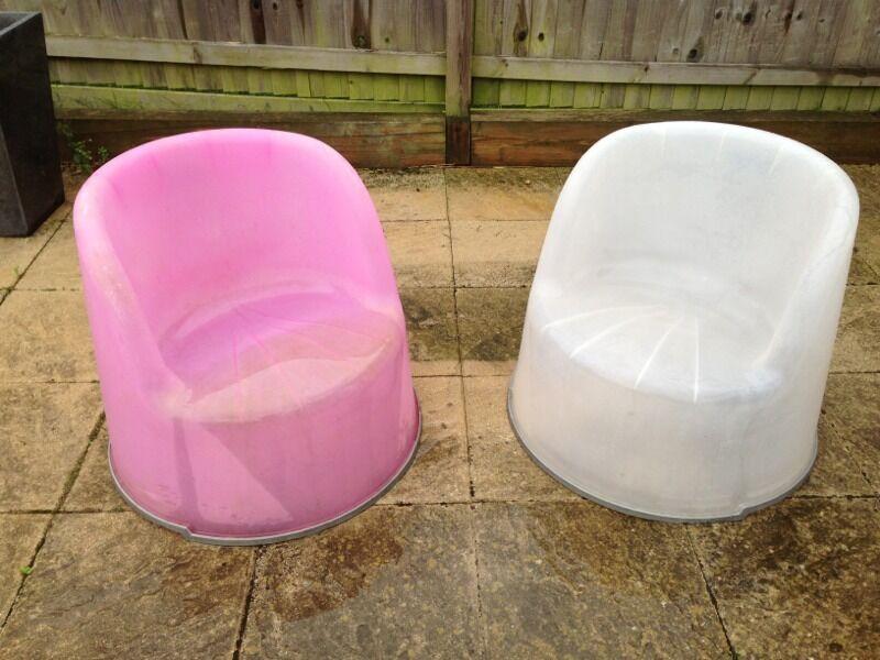 Ikea garden tub chairs plastic | in Mangotsfield, Bristol | Gumtree