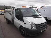 FORD TRANSIT 350 LONG WHEEL BASE WITH TAIL LIFT, White, Manual, Diesel, 2009