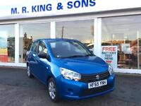 Suzuki Celerio Dualjet SZ3 1.0 Petrol Manual 5 Door Blue 2015