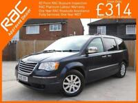 2010 Chrysler Grand Voyager 2.8 CRD Turbo Diesel Limited Ltd 6 Speed Auto 7-Seat