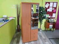Alstons Wardrobe With Mirror - Can Deliver For £19