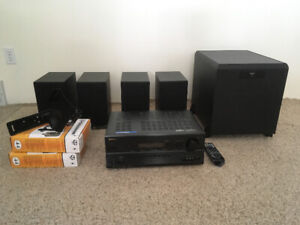 BRAND NEW Klipsch Speakers/Subwoofer and Onkyo Receiver