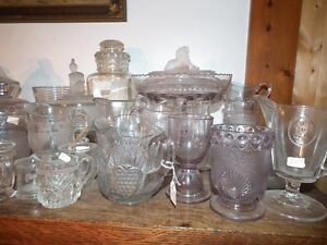 COLLECTION OF ANTIQUE EARLY CANADIAN PRESSED GLASS Sarnia Sarnia Area image 8