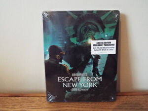 Blu-Ray Escape From New York Édition Limitée Steelbook (10 000)