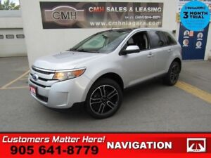 2014 Ford Edge SEL  NAV LEATHER DUAL-DVDs ROOF P/SEATS P/GATE 20