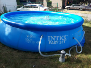 Intex pool 16ft long