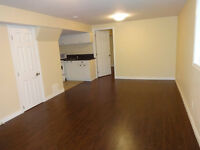 Clean Newly Renovated Modern Basement For Rent + Internet